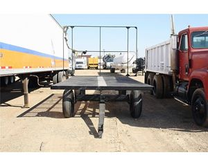 Homemade Flatbed Trailer