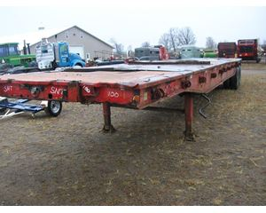 STEEL CRAFT Flatbed Trailer