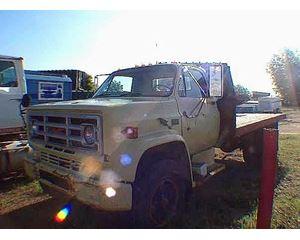 GMC 7000 Flatbed Truck