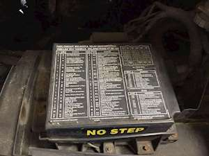 2000 sterling l7500 series left fuse box Frightliner FL80 Fuse Box Diagram