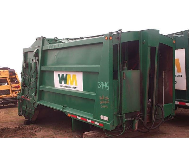 1992 Galbreath Ez Pack Cl370 20 Garbage Truck Body For