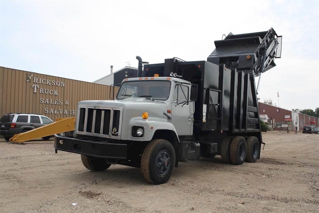 1999 International 2654 Garbage Truck For Sale Jackson