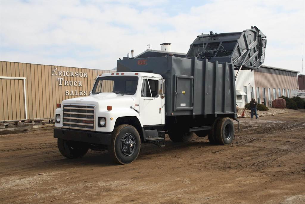 1987 International S1700 Garbage Truck For Sale Jackson