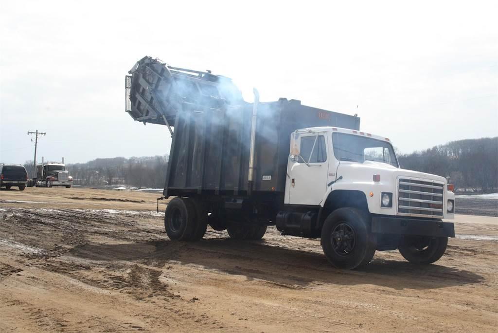 1987 International S1700 Garbage Truck For Sale Jackson