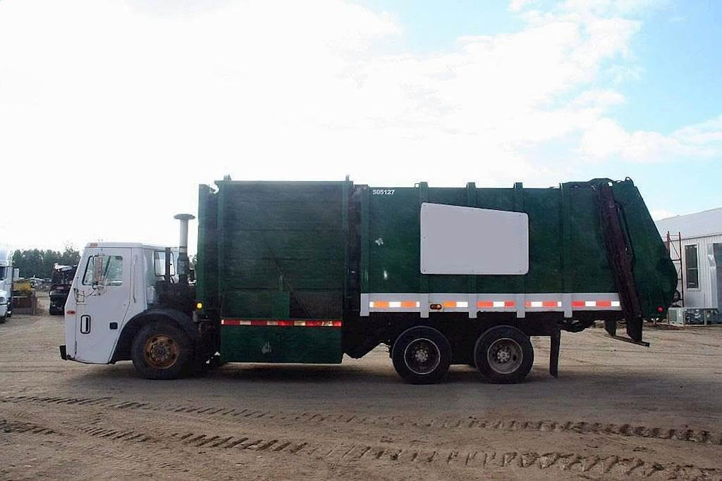 1998 Mack Le633 Garbage Truck For Sale Jackson Mn