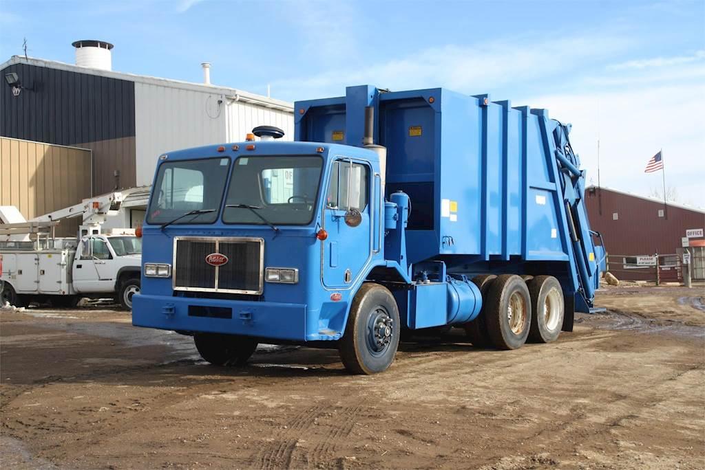 Trash Trucks For Sale >> 1988 Peterbilt 320 Garbage Truck For Sale Jackson Mn H013 Mylittlesalesman Com