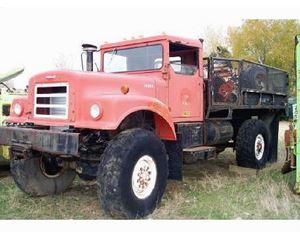International 1910 Heavy Duty Dump Truck