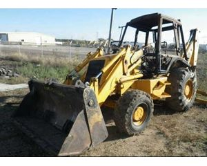 JCB 214 Loader Backhoe