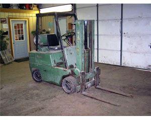 Clark C50055 Mast Forklift