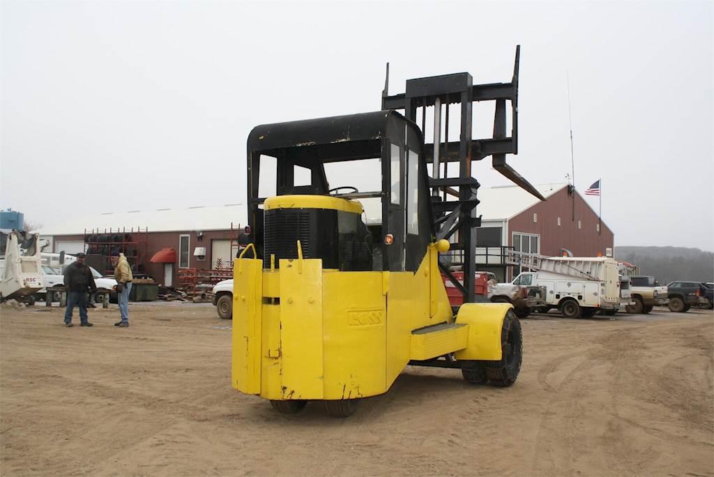1986 Ross 15HT Mast Forklift For Sale | Jackson, MN | F432