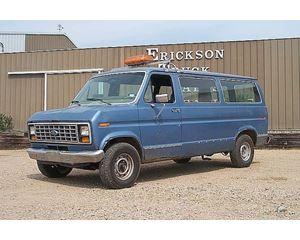 Ford E-150 Passenger Van / Box Truck