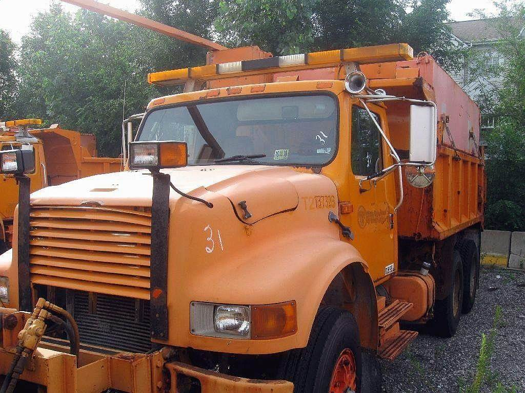 Plow Trucks For Sale >> 1991 International 4900 Plow Spreader Truck For Sale