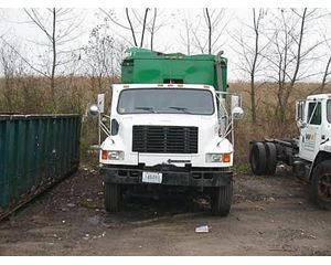 International 4900 Recycling Truck