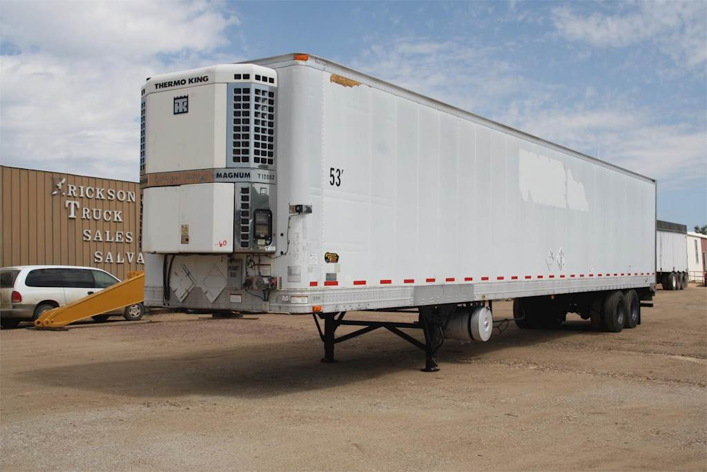 2002 Great Dane Reefer Refrigerated Trailer For Sale Palestine