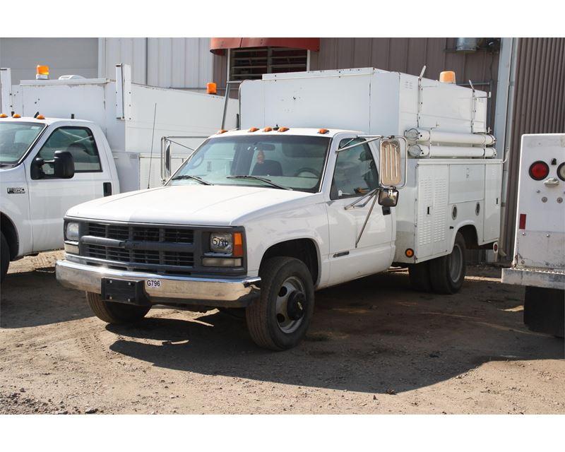 2000 chevrolet 3500 service utility truck for sale jackson mn. Black Bedroom Furniture Sets. Home Design Ideas