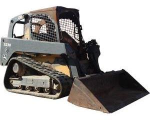 John Deere 323D Skid Steer Track Loader