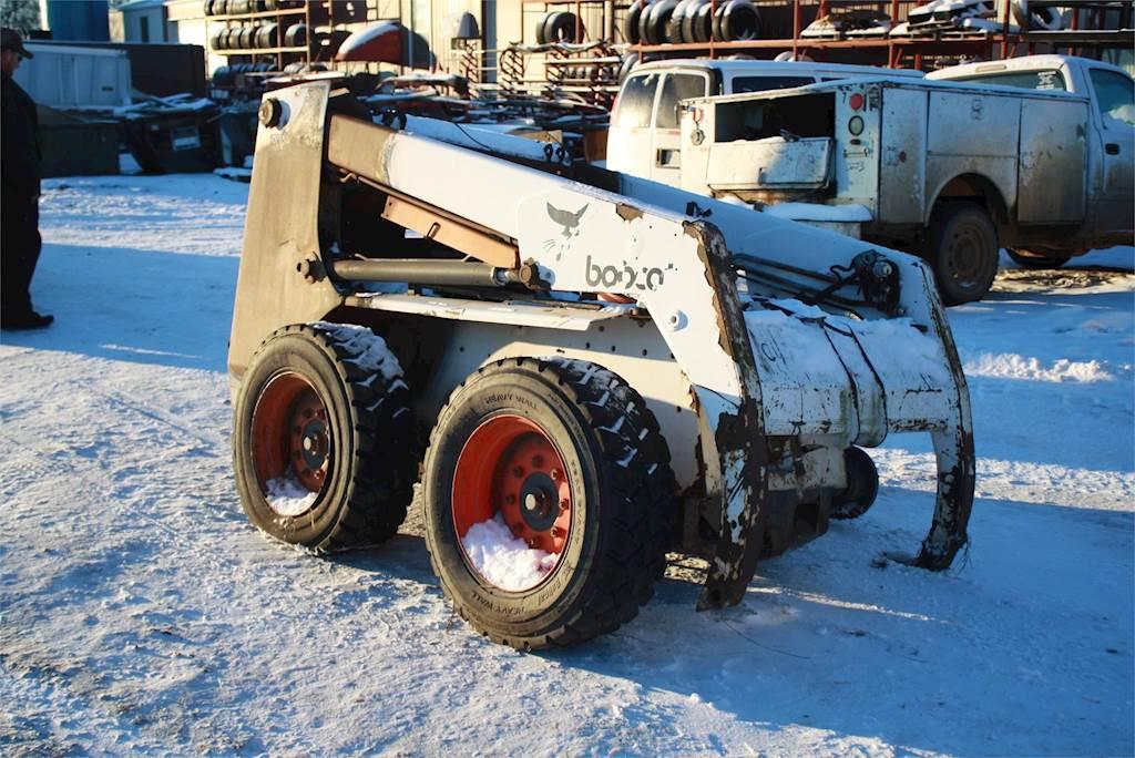 1996 Bobcat 763 Skid Steer Loader For Sale Jackson Mn C473
