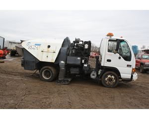 GMC W3500 Sweeper Truck