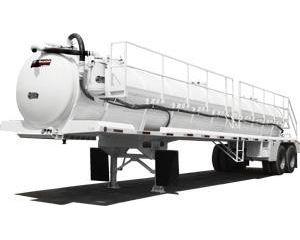 Gallegos Vacuum Tank Trailer