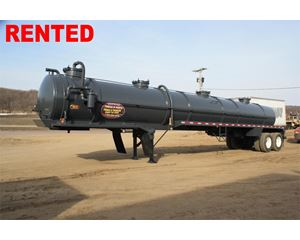 Shop Built Vacuum Tank Trailer