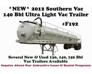 Southern Vac Vacuum Tank Trailer