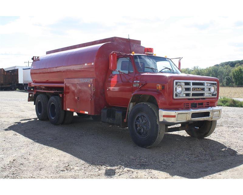 1979 Gmc 7000 Water Tank Truck For Sale - Jackson  Mn