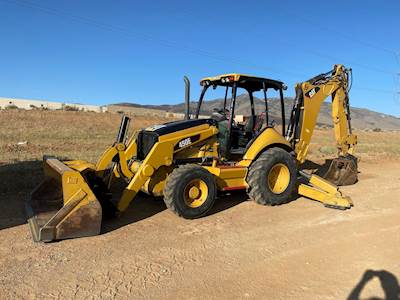 2009 Caterpillar 450E Backhoe