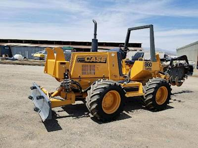 Case 860 TURBO Trencher