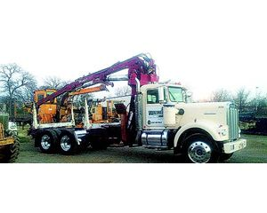 Kenworth SELF LOADER Logging Truck