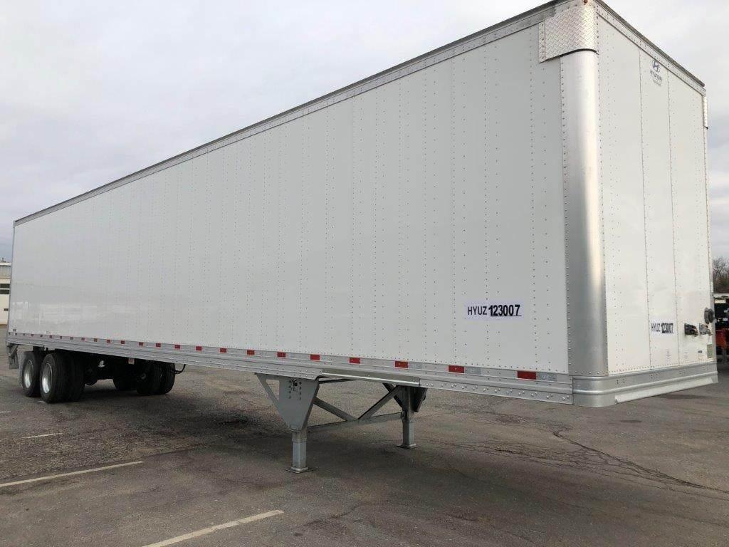 2021 Hyundai 48 ft Dry Van Trailer - Roll up Door, Air ...