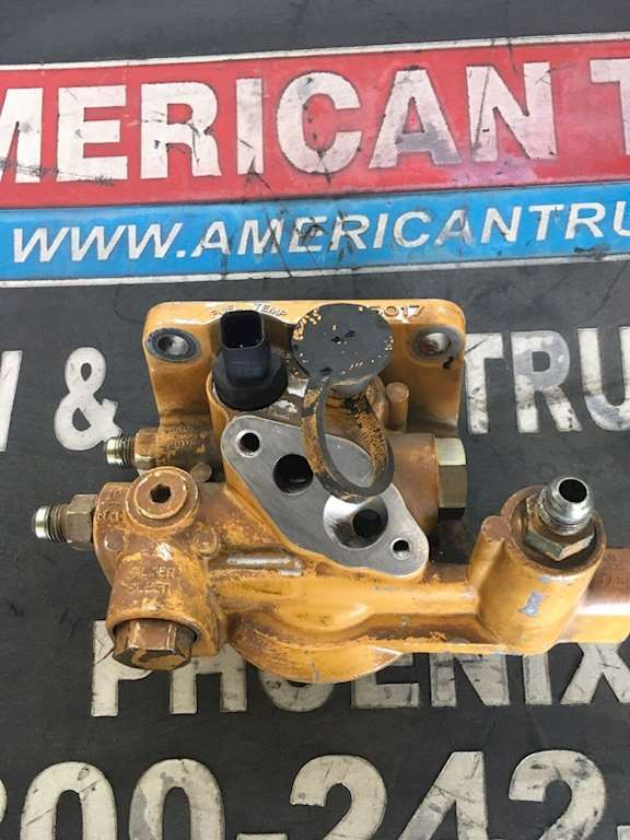 Used Fuel Filter Housing For A CAT C15 Engine
