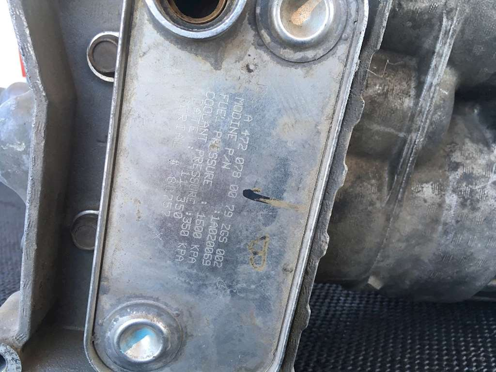 Used Fuel Filter Assembly With Cooler For Detroit Dd15 Sale Housing