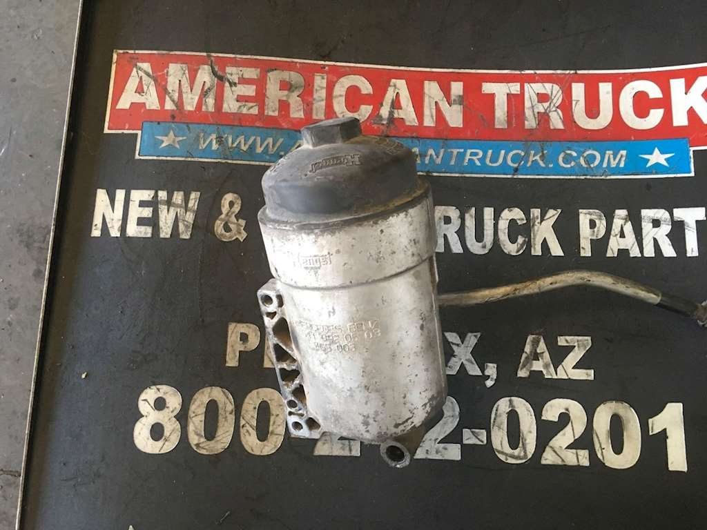 Used Fuel Filter Base For A Mercedes Mbe 4000 Engine