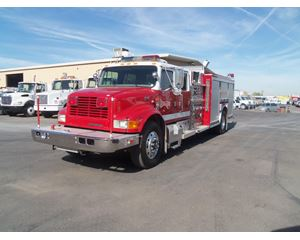 International 4900 Fire Truck