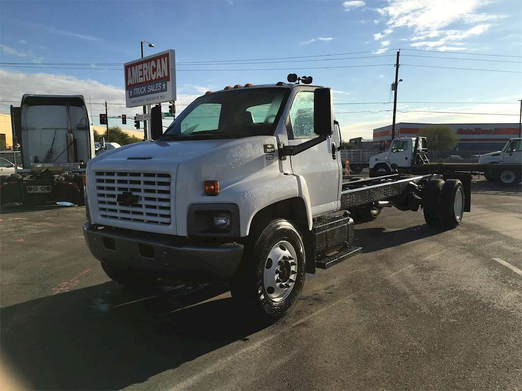 2006 chevrolet kodiak c8500 flatbed truck for sale. Black Bedroom Furniture Sets. Home Design Ideas