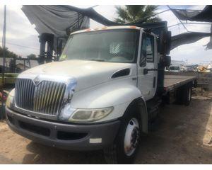 International 4300 Flatbed Truck