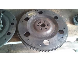 Inspected Good Flywheel With Cover And Bolts