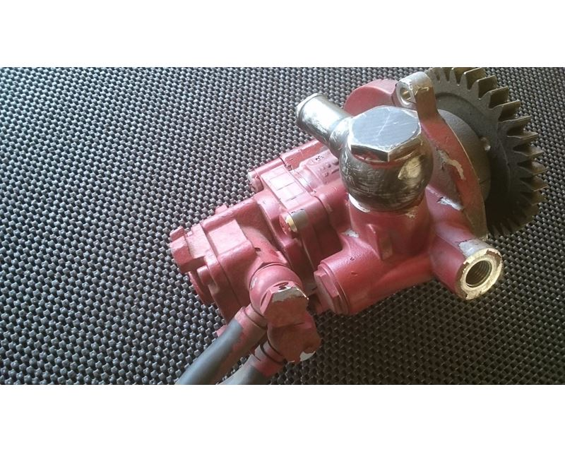 Used Fuel Gear Pump From A Mack Mp8 Engine For Sale