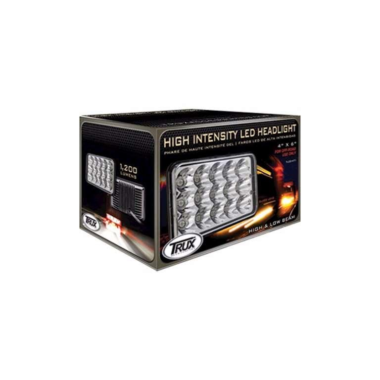 High Intensity 6 X 4 Led Headlight High Low Beam Autos Post