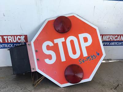 Used School Bus Stop Sign For 2007 International RE300
