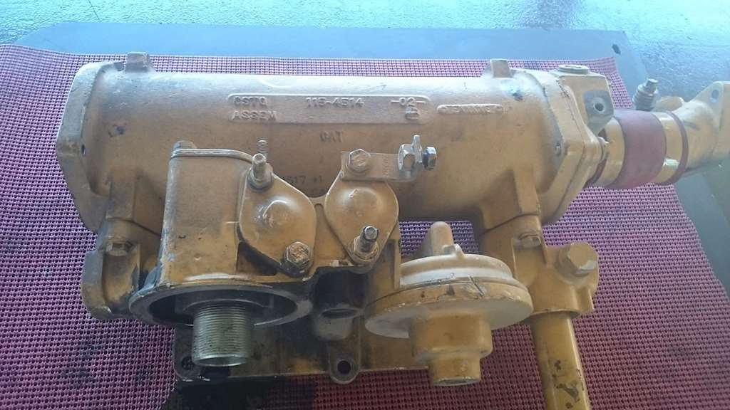 c 15 cat engine diagram engine oil cooler for a cat c12 engine, with oil filter ...
