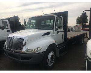 International 4300 Stake Truck