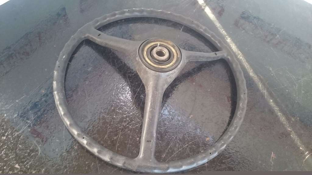 Used Freightliner Steering Wheel It S Missing Center Cover