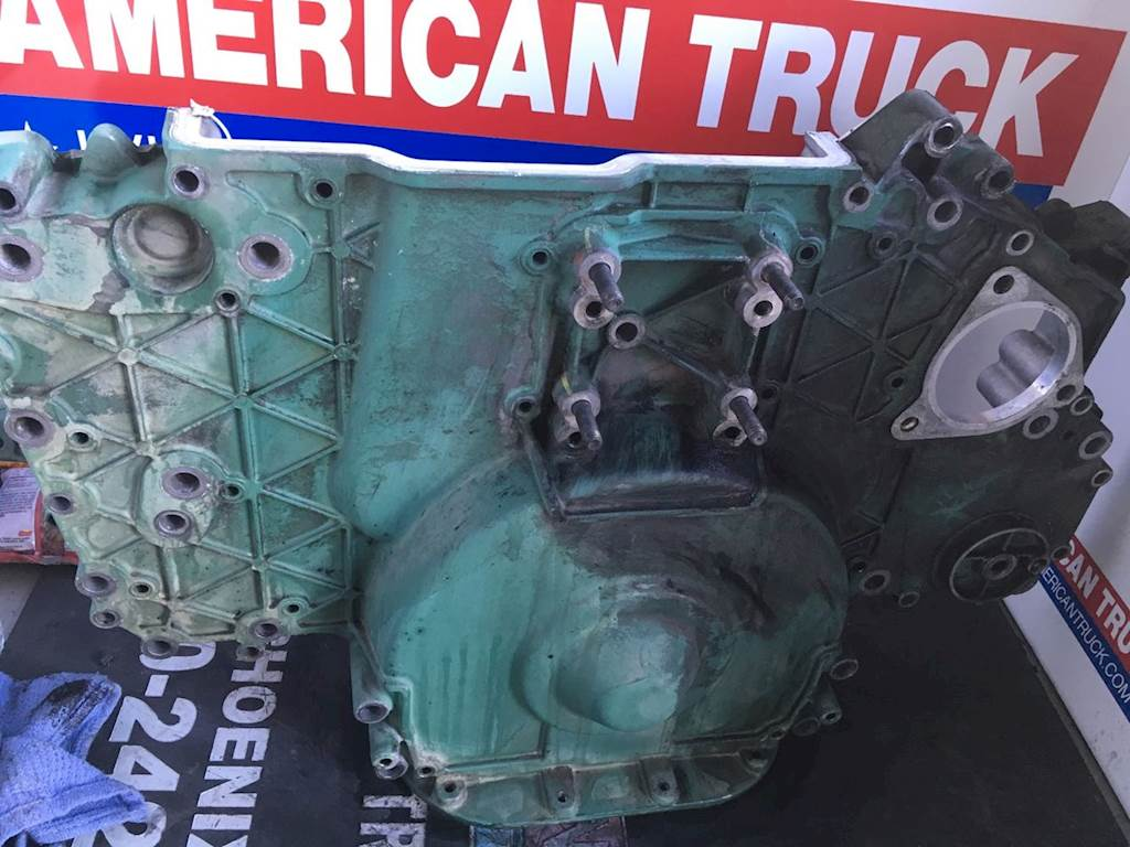 used timing gear cover for a volvo d12 engine for sale phoenix az rh mylittlesalesman com Volvo D12 Truck Engines Diagram Radiator Volvo D12