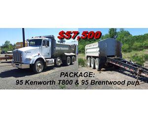 Kenworth t 800 Heavy Duty Dump