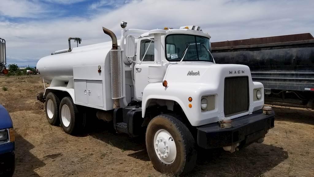 1969 Mack Dm611s Water Truck For Sale Yakima Wa 9488363