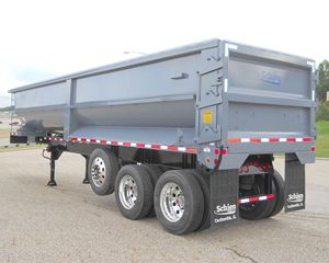SCHIEN End Dump Semi Trailer