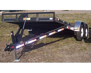 PJ TRAILERS Tilt Bed Trailer