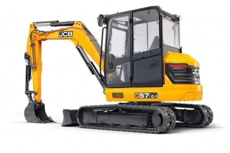 2019 JCB 57C-1 Excavator For Sale | Lynden, WA | 55Z-1Cab |  MyLittleSalesman com