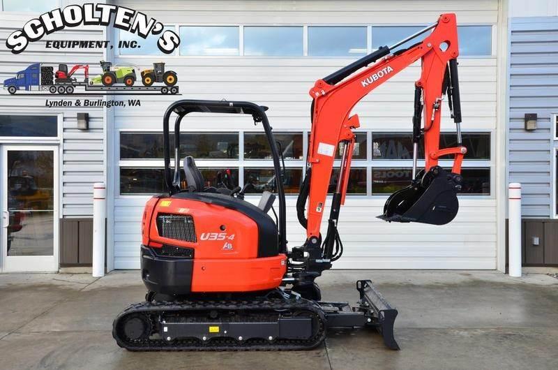 2019 Kubota U35-4 Mini Excavator For Sale | Lynden, WA | U35